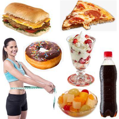 ¿Qué alimentos debo eliminar para adelgazar?