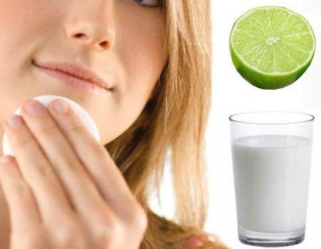 La leche sirve para desmaquillar y otros ingredientes