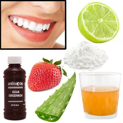 Algo natural para blanquear los dientes