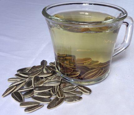 ¿Cómo preparar té de semillas de girasol?