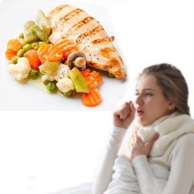 La comida no me sabe a nada por la gripe