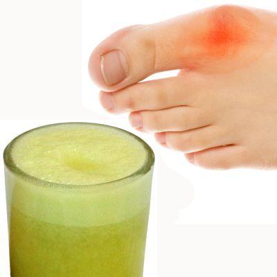 ¿Qué jugo o licuado son buenos para el ácido úrico?
