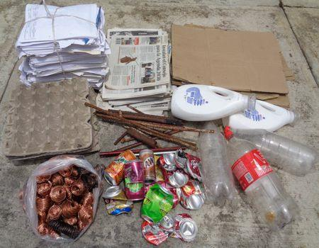 ¿Cuáles son los materiales más comunes para reciclar?
