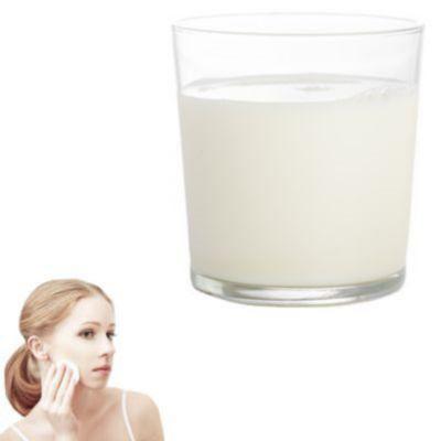 ¿Qué pasa si pongo leche en mi cara?