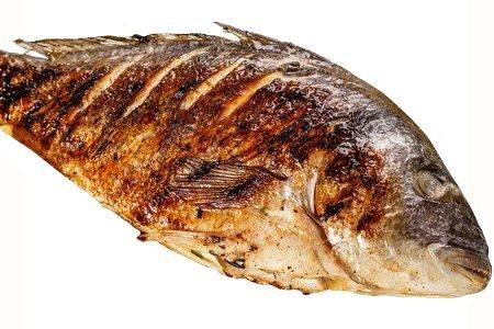 ¿Cuánto engorda el pescado frito?