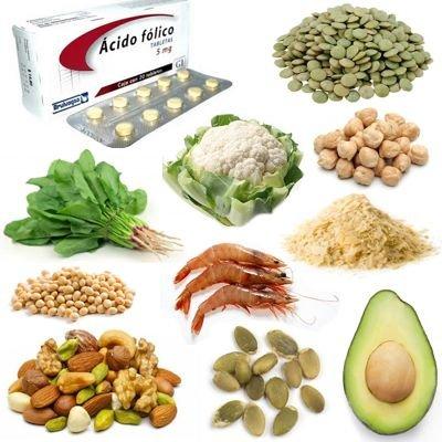 Importancia del ácido fólico en nuestro organismo