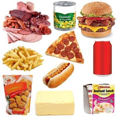 Los alimentos que consumimos y afectan gravemente la salud