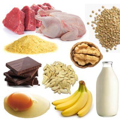 Fuentes alimentarias de triptófano
