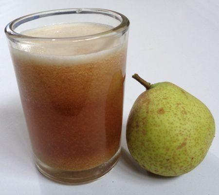 ¿Para qué es bueno tomar jugo de pera?