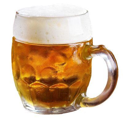 Una cerveza es buena para la salud