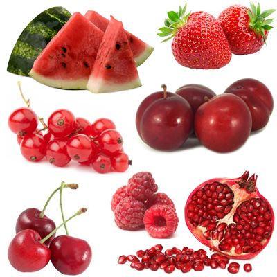 Porque son buenas las frutas rojas