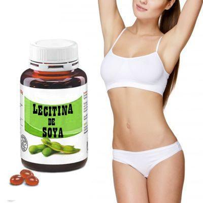 ¿Cómo se debe tomar la lecitina de soya en capsulas?