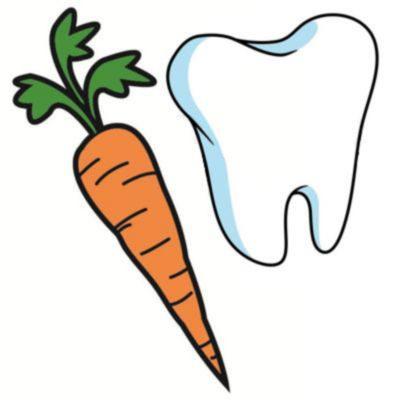 La zanahoria sirve para los dientes