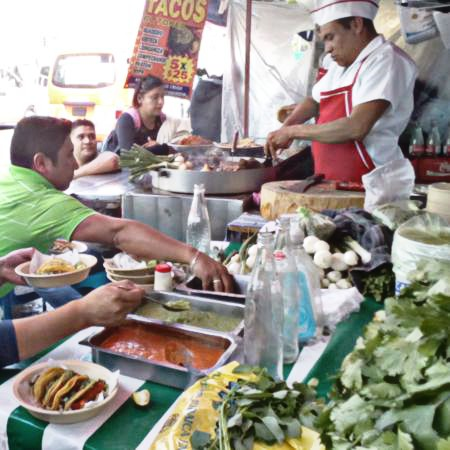 ¿Es bueno comer en la calle?