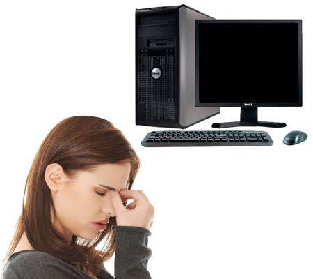 Se me cansan los ojos en la computadora