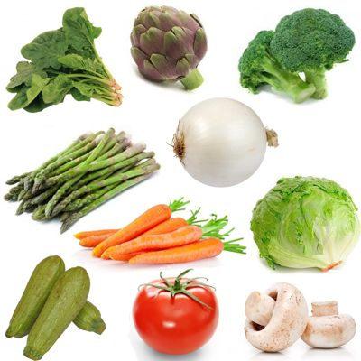 ¿Cómo actúan las verduras en el organismo?