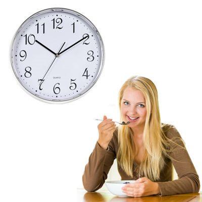 Aliméntate de manera correcta y en horarios regulares