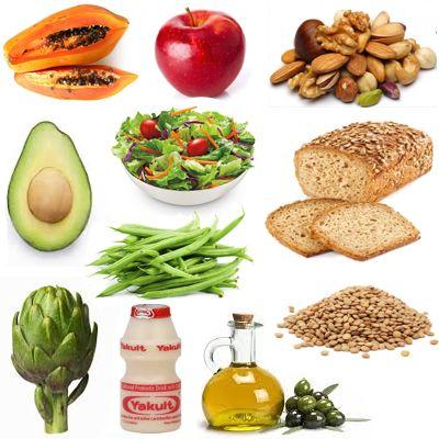 Lista de alimentos contra el estreñimiento