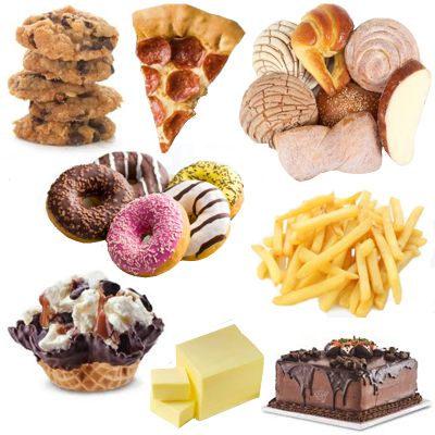 ¿Qué pasa con el consumo de grasas parcialmente hidrogenadas?