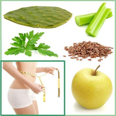 ¿Cómo hacer jugo de nopal apio manzana perejil y linaza?