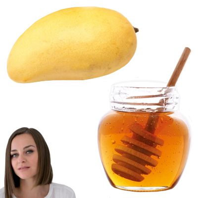 Como hacer una mascarilla de miel de abeja y mango
