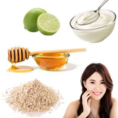 ¿Cómo hacer una mascarilla de avena, yogurt, miel y limón?