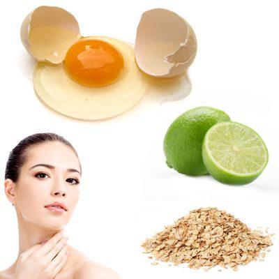 ¿Cómo hacer mascarilla de clara de huevo y limón?