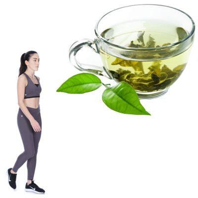 ¿Cuánto tiempo antes de hacer ejercicio debo tomar té verde?