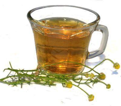 El té de manzanilla quita las agruras