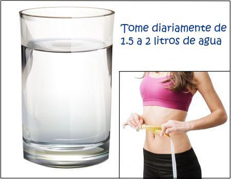 Importancia del agua para bajar de peso