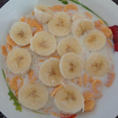 ¿Es bueno desayunar cereal con plátano?