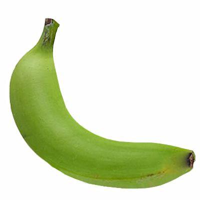 ¿Es malo comer plátano verde crudo?