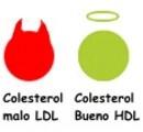 ¿Cómo puedo saber cuál es el colesterol bueno y el malo?