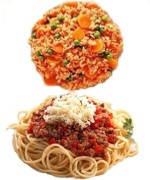 ¿Que engorda más la sopa de pasta o el arroz?