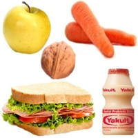 Ejemplo de un lunch saludable