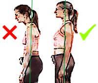 ¿Cómo puedo saber si tengo buena postura?
