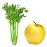 Propiedades medicinales del jugo de manzana y apio