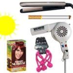 Cosas para dañar el cabello