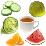 Alimentos altamente hidratantes