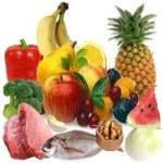 Nombres de frutas y verduras antioxidantes naturales