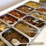 Como comer sano y menos calorías en un buffet