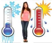 ¿Qué ocasionan los cambios de temperatura al cuerpo humano?