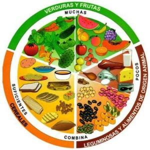 Consumo variado de alimentos