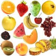 Principales componentes químicos de las frutas