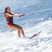 Beneficios de esquiar en agua