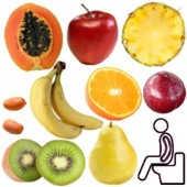 Buenas frutas que sirven para ir al baño