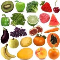 Porque es importante consumir frutas y verduras de diferentes colores