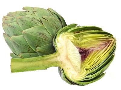 Como se relaciona la ingesta de alcachofa con el ser humano