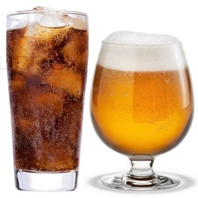¿Qué es peor coca cola o cerveza?