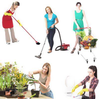 Lista de actividades cotidianas que impliquen un trabajo físico